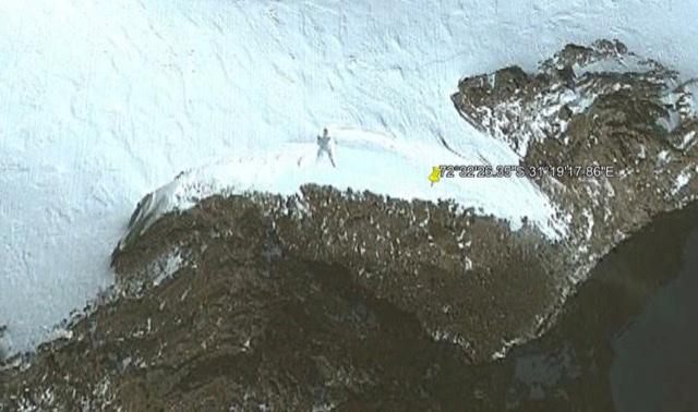 20 Meter Tall Humanoid Antarctica