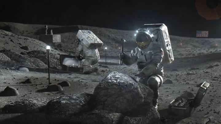 Radiation On Moon