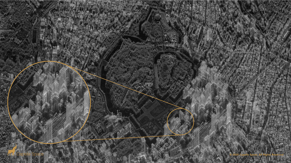 A New Satellite By Capella Space Can Look Inside Buildings, Day Or Night