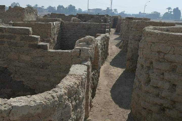 A 3000-Year-Old Lost Golden City (Aten) Has Been Discovered In Egypt