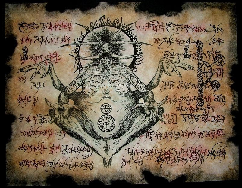 """The Necronomicon: The Dangerous And Forbidden """"Book Of The Dead"""""""
