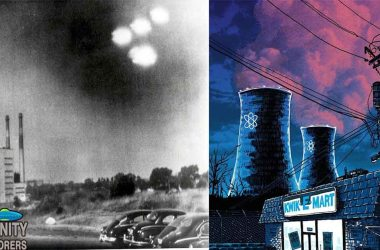 Nuclear power plant UFOs
