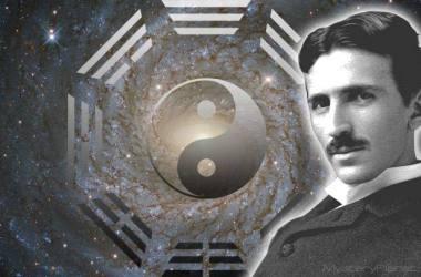 Nikola Tesla And Yin Yang