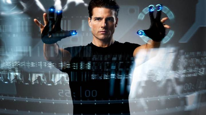 Tom Cruise In The Movie The Minority Report