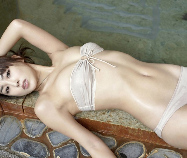 Beautiful Asian Girl In Wet Bikini Hot Girl Photo Print Sexy Girl Poster Art