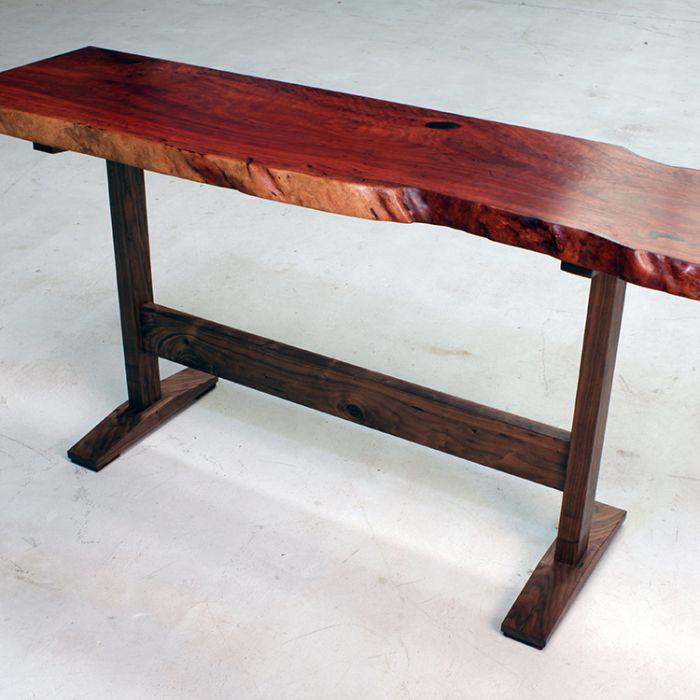 base for live edge slab table plans