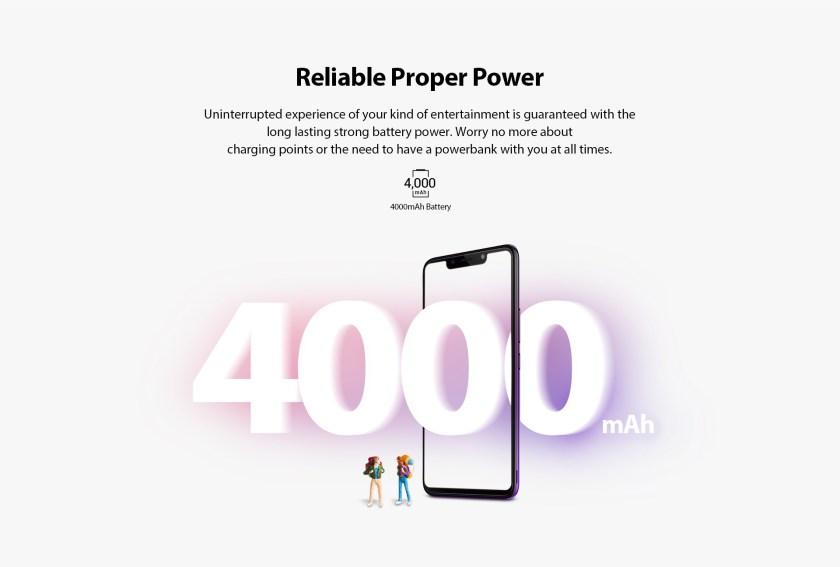 Infinix Hot 7 4000mAh battery