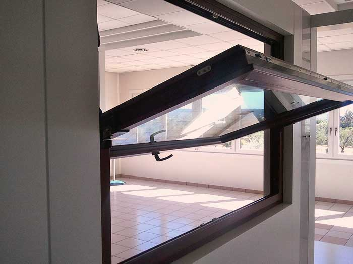 Finestre apertura in PVC