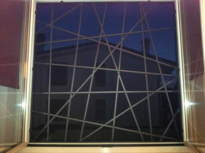 inferriate moderne x finestre con forma particolare