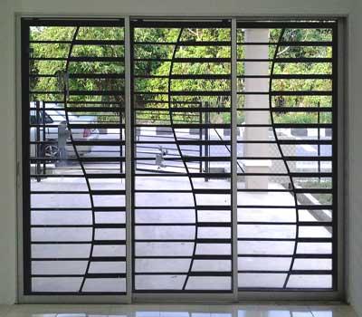 Inferriate per finestre di design appartamento provincia Milano