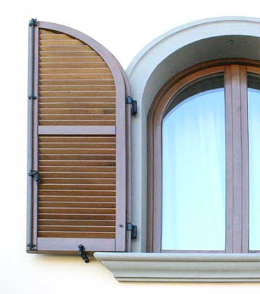 Persiana in legno Milano