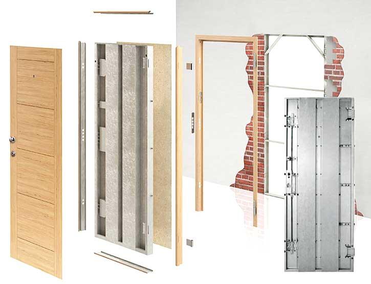 Montaggio porte blindate in un appartamento di Como