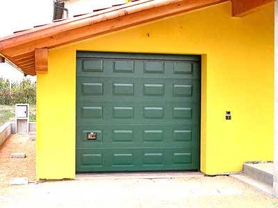 Porte blindate per garage Mantova