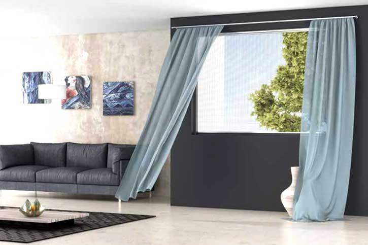 Zanzariera in una casa a Mantova
