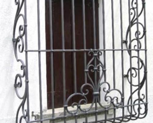 Inferriate in ferro battuto Brescia