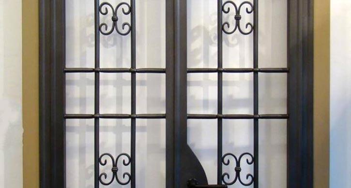 Inferriate finestra appartamento Lecco