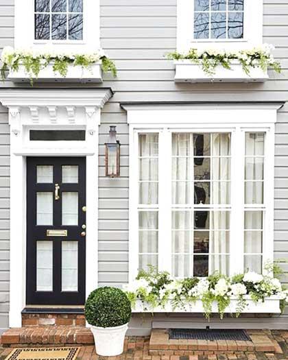 Soluzioni stile inglese esterno casa
