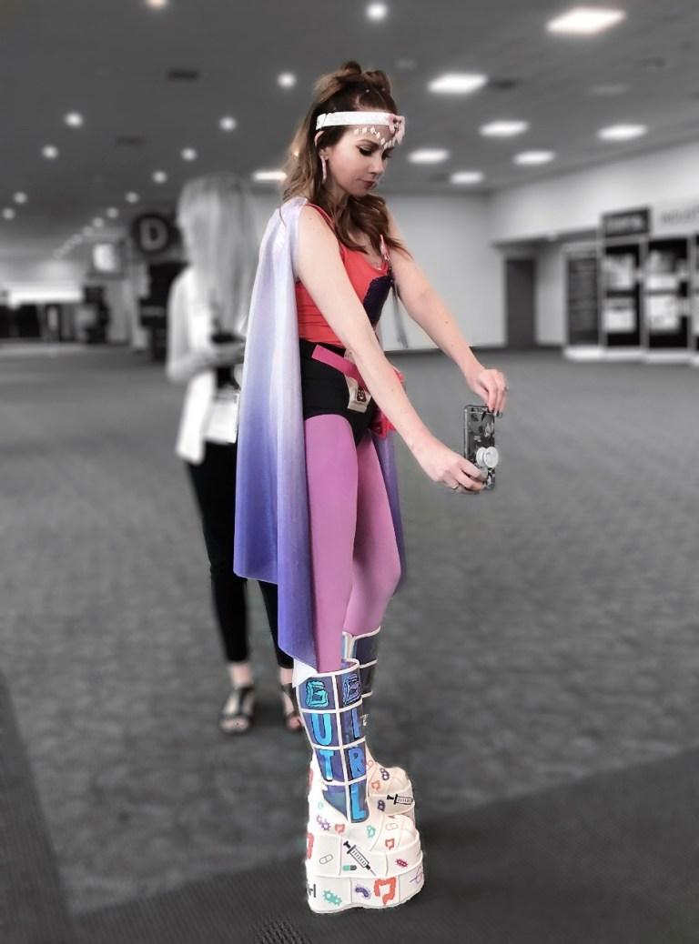 Gut girl superhero IBD