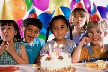 fiesta infantil pastel