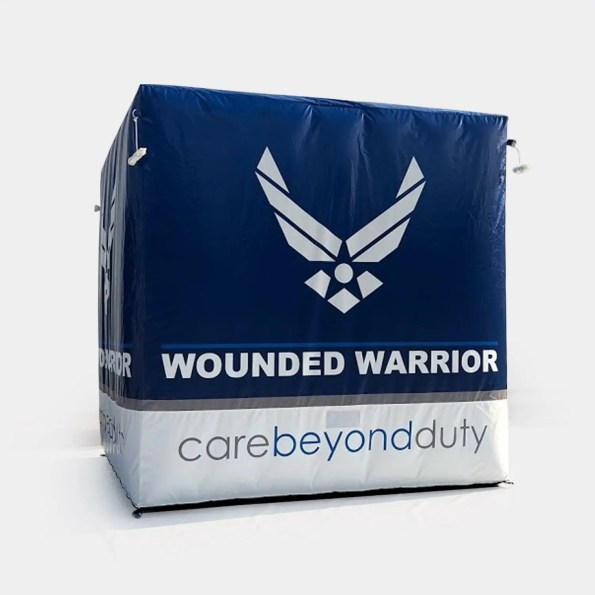 Custom USAF Inflatable Cube
