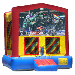 Monster Trucks Modular Bounce House