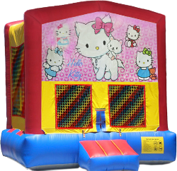 Hello Kitty Modular Bounce House