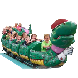Crazy Caterpillar Coaster