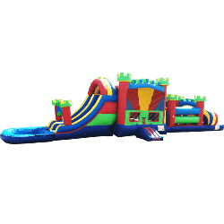 5in1 Obstacle Water Slide