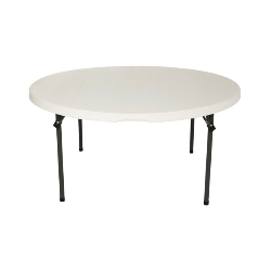 60'' round folding table