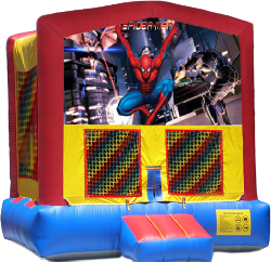 Spider Man Modular Bounce House