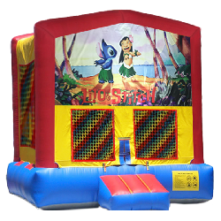 Lilo & Stitch Modular Bounce House