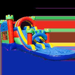 4in1 Castle Water Slide