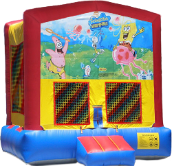 Spongebob Modular Bounce House