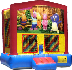 Backyardigans Modular Bounce House