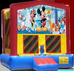Mickey's Fun Factory Modular Bounce House