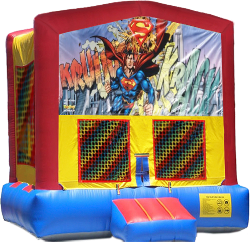 Superman Modular Bounce House