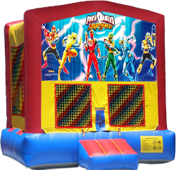 Power Rangers Modular Bounce House