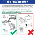 What can be PIPA Tested poster