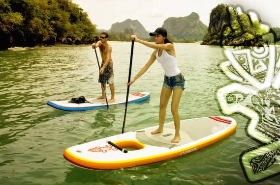 Starboard Explorer Inflatable SUP