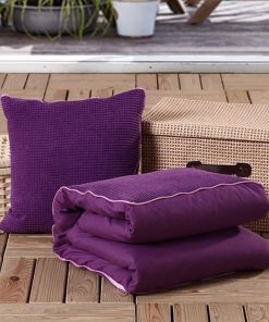 dovewill dual use pillow blanket set