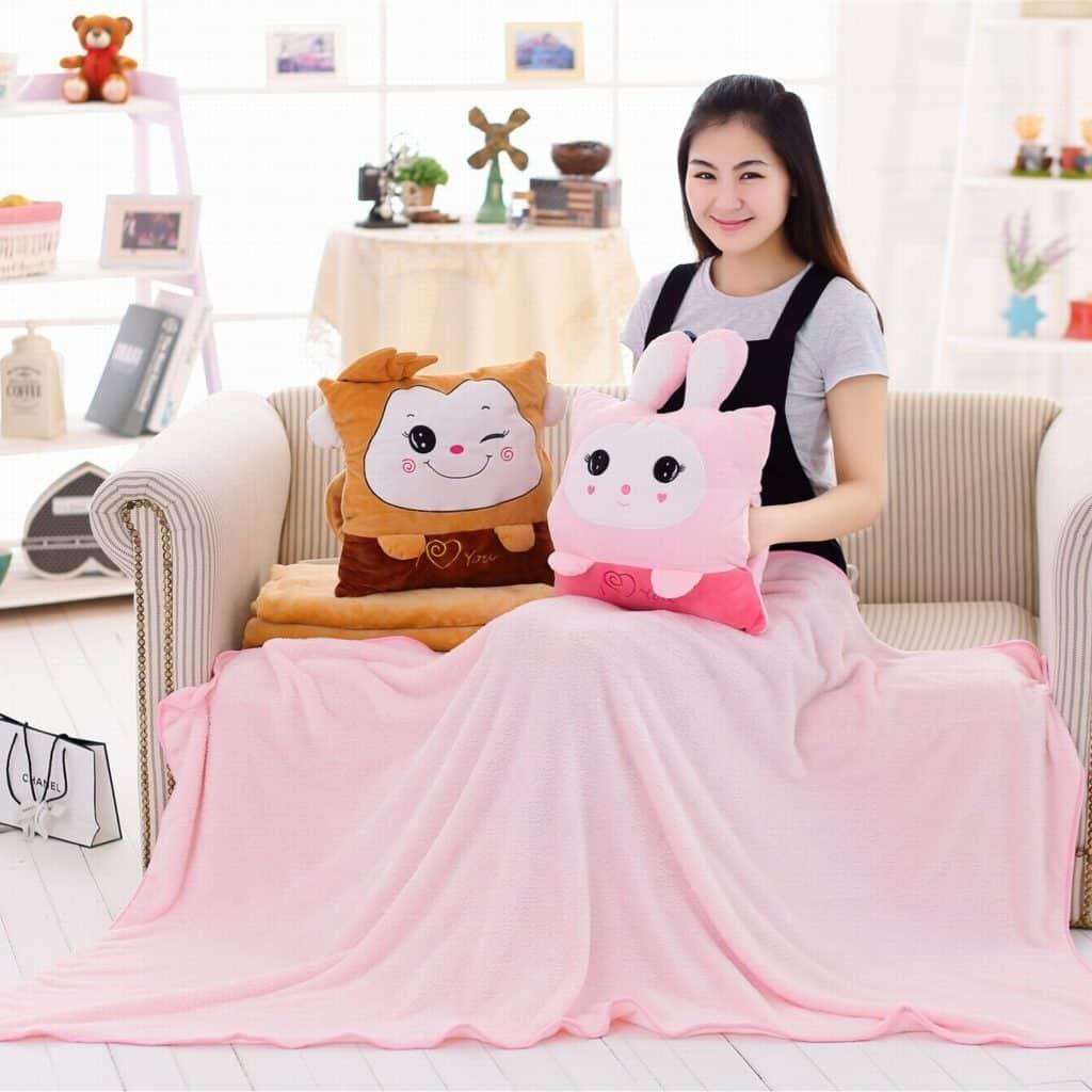 pillow blanket kids pets travel pillow