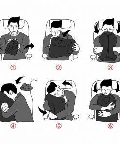 travel pillow portable head neck rest
