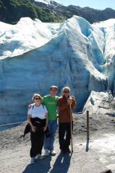 Family Glacier Picture