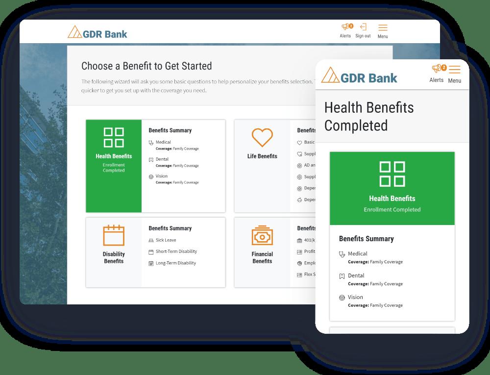 Plan Selection Desktop Mobile