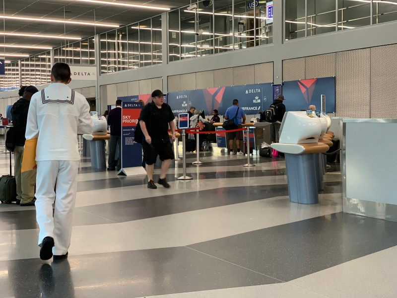 Delta airlines check in