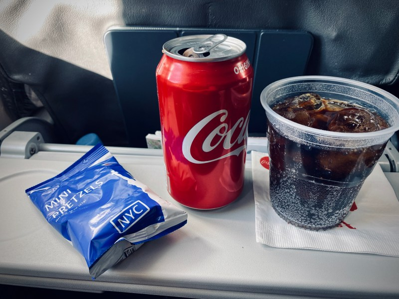 American Airlines Bar service