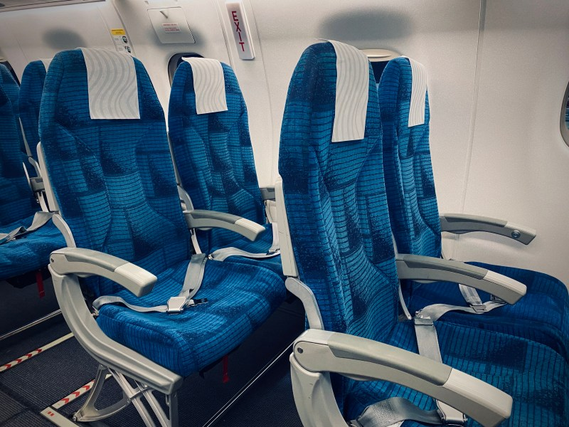 Norra E190 seating