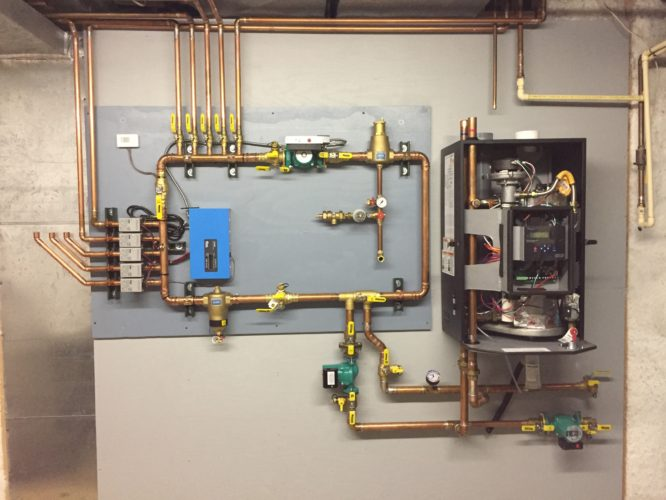 Heating System Hydronic Components Sepertor Air