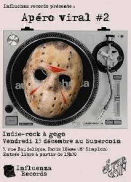 Le 13/12/13 au Supercoin, Paris 18e