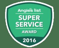 2016 Angie's List Award Winner